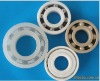 Anti-corrosion plastic ball bearings PTFE, PVDF