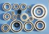 Deep groove ball bearing of ceramic PTFE cage ZrO2 6906