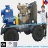 Engine Drive Trailer Self Priming Water Pump