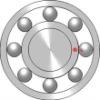 High precision 608z deep groove ball bearings