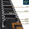 Hot Sale Corrugated sidewall conveyor belt, Rubber Conveyer Belt