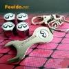 INFINITE logo car tire valve caps 4pcs +wrench key chain(FD-CAP-INFINITE)