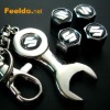 SUZUKI logo car tire valve caps 4pcs +wrench key chain(FD-CAP-SUZUKI)