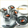 TRD logo car tire valve caps 4pcs +wrench key chain(FD-CAP-TRD)
