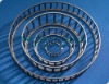 Tapered roller bearing cages with steel