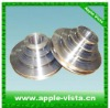 Tungsten carbide wire drawing pulley