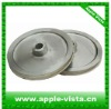 Wire cable steel pulley with ceramic coating