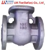 casted check valve body