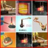 gold  small  melting induction furnace for HF heating