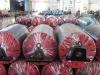 industrial production line conveyor system roller idler