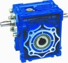 worm gear speed reducer with input shaft and extension shaft